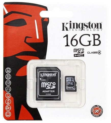 Thẻ nhớ 16GB Kingston