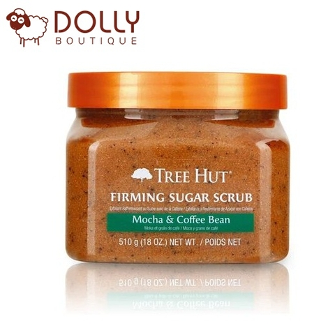 TẨY DA CHẾT TREE HUT SHEA SUGAR SCRUB - MOCHA & COFFEE BEAN 510GR
