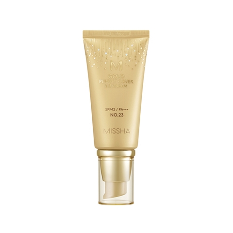 MISSHA M GOLD PERFECT COVER BB CREAM SPF42/PA+++ (NO.21 Light Beige)