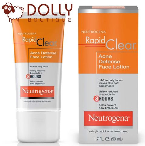 ĐẶC TRỊ MỤN NEUTROGENA ACNE DEFENSE FACE LOTION