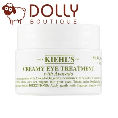 KEM MẮT KIEHL'S CREAMY EYE TREAMENT WITH AVOCADO