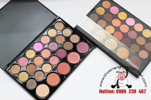 BẢNG MẮT BH COSMETIC BLUSHED NEUTRALS 26 COLOR EYESHADOW & BLUSH PALETTE