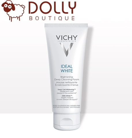 SỬA RỬA MẶT VICHY IDEAL WHITE BRIGHTENING DEEP WHITENING CLEANSING FOAM