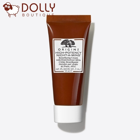 KEM DƯỠNG HIGH POTENCY NIGHT A MINS RESURFACING CREAM WITH FRUIT-DERIVED AHAs