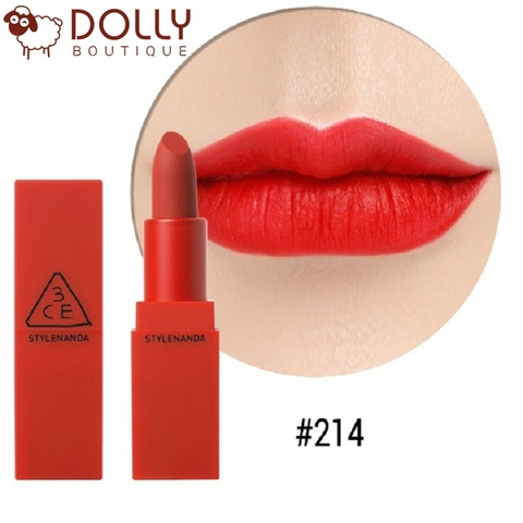 SON THỎI 3CE RED RECIPE LIP COLOR #214 SQUEEZING