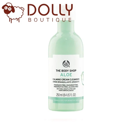 SỮA RỬA MẶT THE BODY SHOP ALOE CALMING CREAM CLEANSER