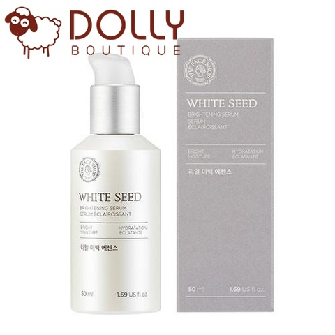 TINH CHẤT DƯỠNG TRẮNG THE FACE SHOP WHITE SEED BRIGHTENING SERUM