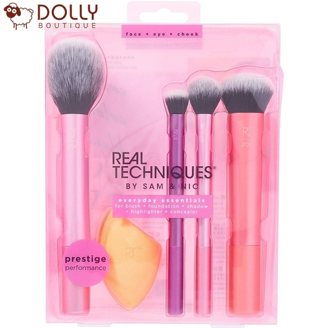 SET CỌ TRANG ĐIỂM REAL TECHNIQUES EVERYDAY ESSENTIALS