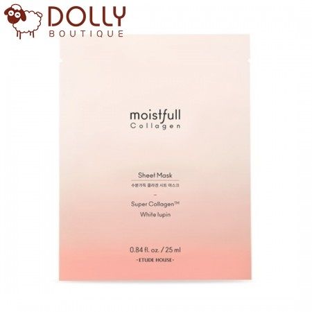 MẶT NẠ ETUDE HOUSE MOISTFULL COLLAGEN MASK SHEET