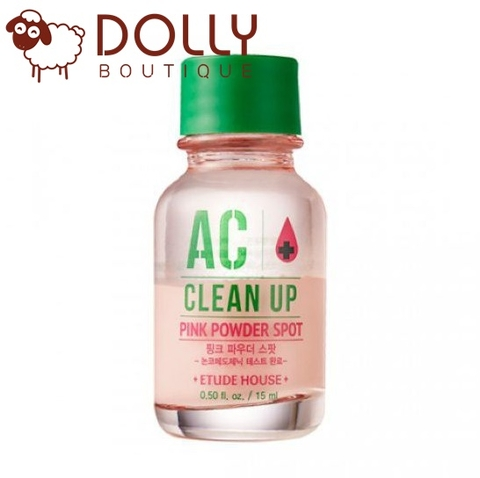 ĐẶC TRỊ MỤN ETUDE HOUSE AC CLEAN UP PINK POWDER SPOT