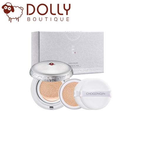 PHẤN NƯỚC MISSHA CHO GONG JIN SULBON BRIGHTENING SILK CUSHION SET (NO.21, NO.23)