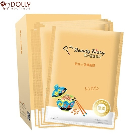 MẶT NẠ MY BEAUTY DIARY NATTO FERMENTED MOISTURISZING MASK