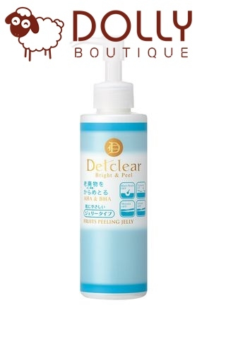 TẨY DA CHẾT MẶT DETCLEAR  BRIGHT & PEELING JELLY UNSCENTED