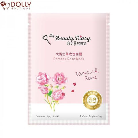 MẶT NẠ MY BEAUTY DIARY DAMASK ROSE MASK