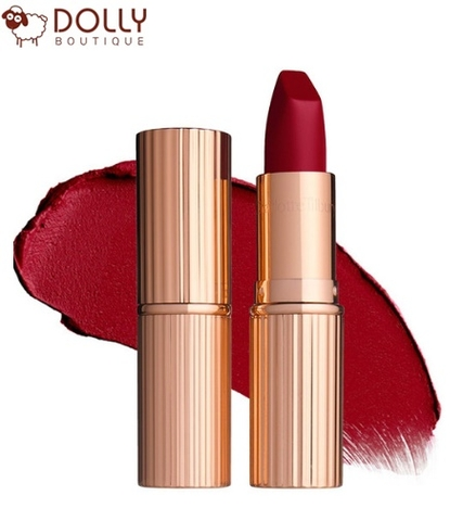 SON MÔI CHARLOTTE TILBURY MATTE REVOLUTION LIPSTICK RED CARPET RED