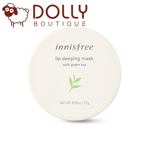 MẶT NẠ NGỦ MÔI INNISFREE LIP SLEEPING MASK WITH GREEN TEA