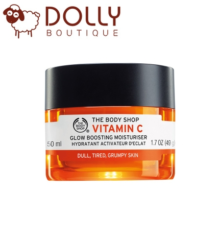 KEM DƯỠNG ẨM THE BODY SHOP VITAMIN C GLOW BOOSTING MOISTURISER