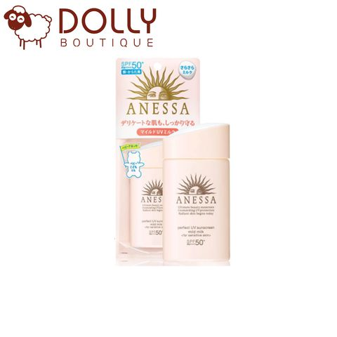 KEM CHỐNG NẮNG ANESSA PERFECT UV SUNSCREEN MILD MILK SPF50+/PA++++ (NEW 2020)