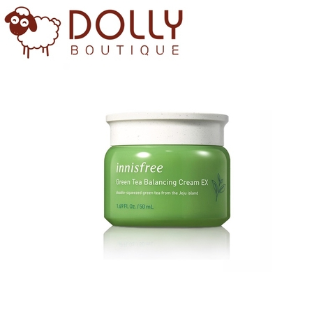 KEM DƯỠNG INNISFREE GREEN TEA BALANCING CREAM EX