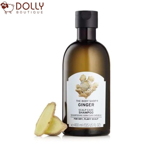 DẦU GỘI THE BODY SHOP GINGER SCALP CARE SHAMPOO