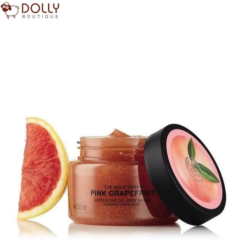 TẨY TẾ BÀO CHẾT THE BODY SHOP PINK GRAPEFRUIT EXFOLIATING GEL BODY SCRUB