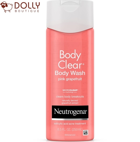 SỮA TẮM NEUTROGENA BODY CLEAR ACNE BODY WASH PINK GRAPEFRUIT