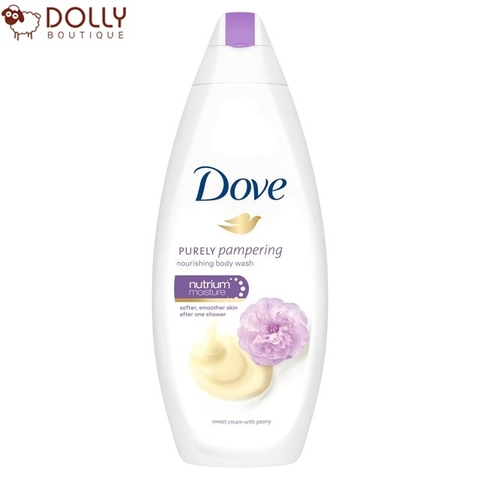 SỮA TẮM DOVE PURELY PAMPERING NOURISHING BODY WASH