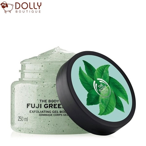 TẨY DA CHẾT CƠ THỂ THE BODY SHOP FUJI GREEN TEA™ EXFOLIATING BODY SCRUB