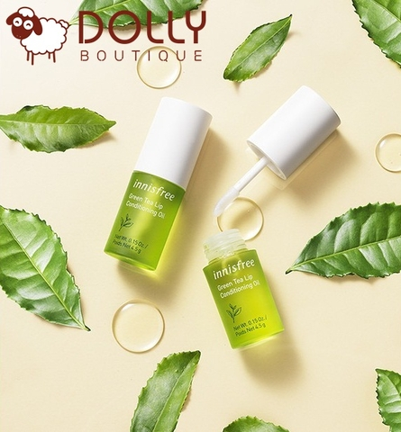 DẦU DƯỠNG MÔI INNISFREE GREEN TEA CONDITIONING OIL