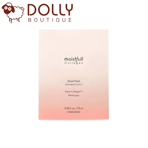 MẶT NẠ GIẤY ETUDE HOUSE MOISTURE FULL COLLAGEN SHEET MASK