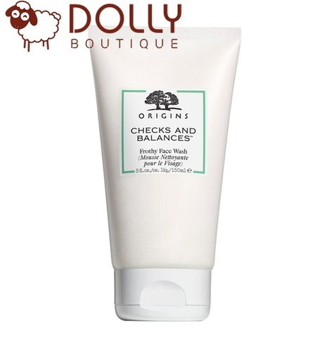 SỮA RỬA MẶT ORIGINS CHECKS AND BALANCES FROTHY FACE WASH