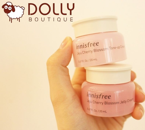 MINI 20ML KEM DƯỠNG JEJU CHERRY BLOSSOM JELLY/ TONE-UP CREAM