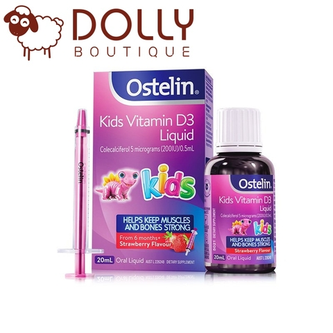 Ostelin Kids Vitamin D3 Liquid 20 ml