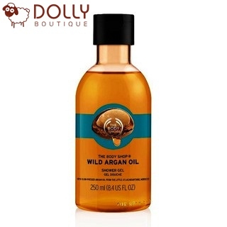 SỮA TẮM THE BODY SHOP SHOWER GEL - WILD ARGAN OIL