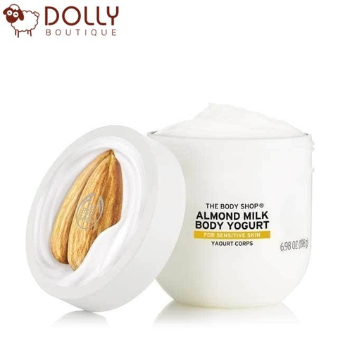 DƯỠNG THỂ THE BODY SHOP ALMOND & HONEY BODY YOGURT 196G