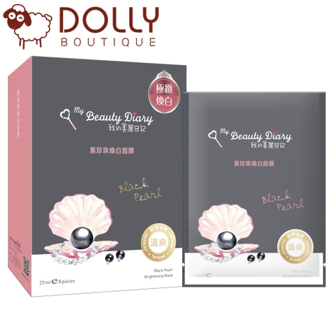 MẶT NẠ MY BEAUTY DIARY BLACK PEARL MASK