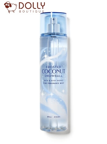 XỊT CƠ THỂ BATH & BODY WORKS FROSTED COCONUT SNOWBALL FINE FRAGRANCE MIST