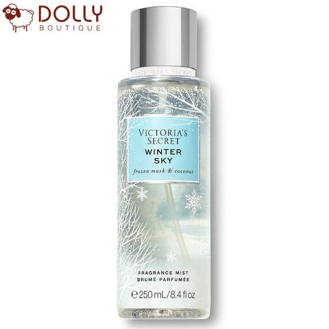XỊT CƠ THỂ VICTORIA'S SECRET WINTER BLISS FRAGRANCE MIST WINTER SKY