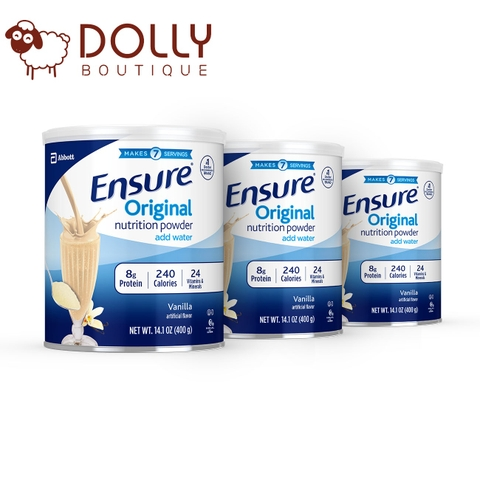 SỮA ENSURE ORIGINAL NUTRITION POWDER VANILLA FOR MEAL REPLACEMENT