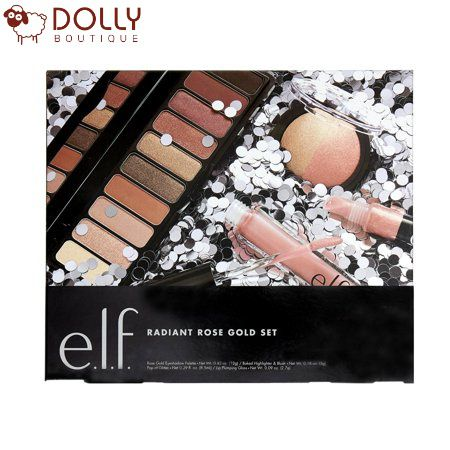 SET TRANG ĐIỂM E.L.F. COSMETICS RADIANT ROSE GOLD VALUE SET