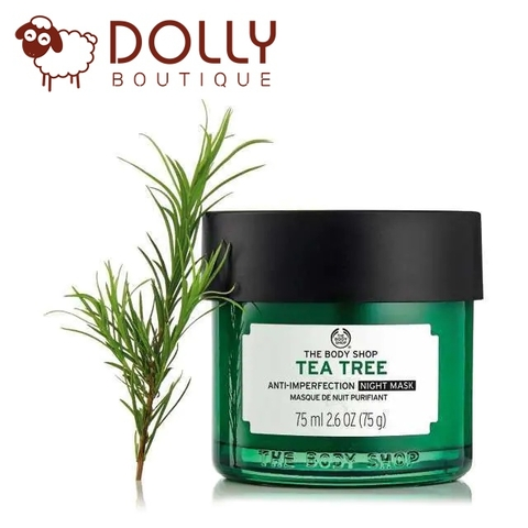 HẠN DÙNG: 12/2021. MẶT NẠ NGỦ MẶT THE BODY SHOP TEA TREE ANTI-IMPERFECTION NIGHT MASK