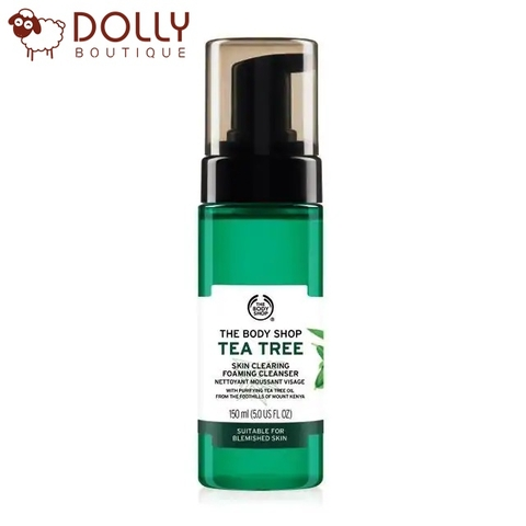 SỮA RỬA MẶT THE BODY SHOP TEA TREE SKIN CLEARING FOAMING CLEANSER