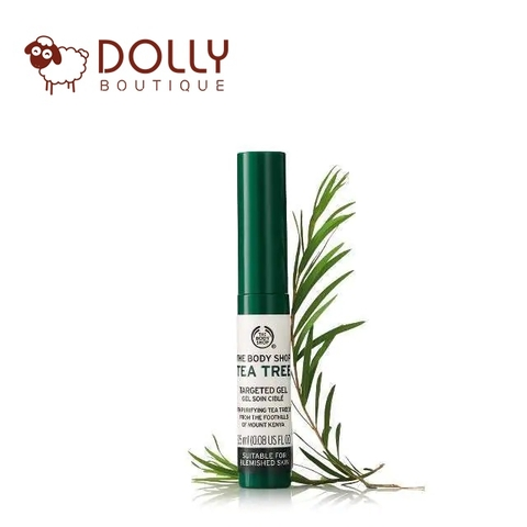 ĐẶC TRỊ THE BODY SHOP TEA TREE TARGETED GEL