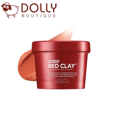 MẶT NẠ ĐẤT SÉT MISSHA AMAZON RED CLAY PORE MASK