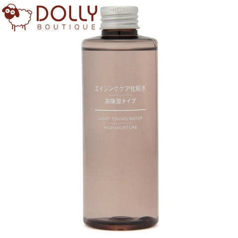 NƯỚC HOA HỒNG MUJI LIGHT TONING WATER - HIGH MOISTURE