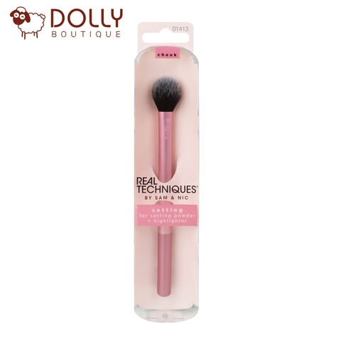 CỌ MÁ HỒNG BẮT SÁNG REAL TECHNIQUES MAKEUP SETTING BRUSH