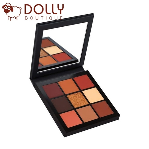 PHẤN MẮT HUDA BEAUTY WARM BROWN OBSESSIONS EYESHADOW PALETTE