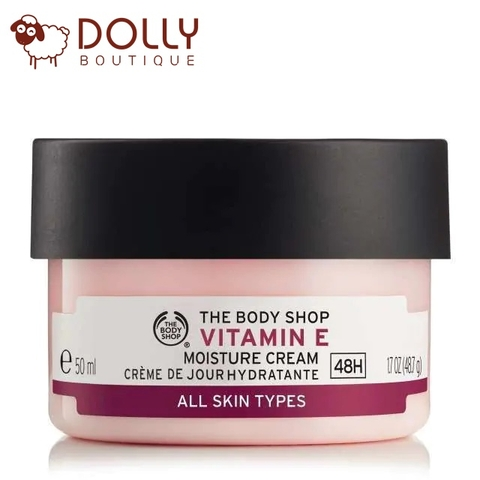 KEM DƯỠNG ẨM THE BODY SHOP VITAMIN E MOISTURE CREAM