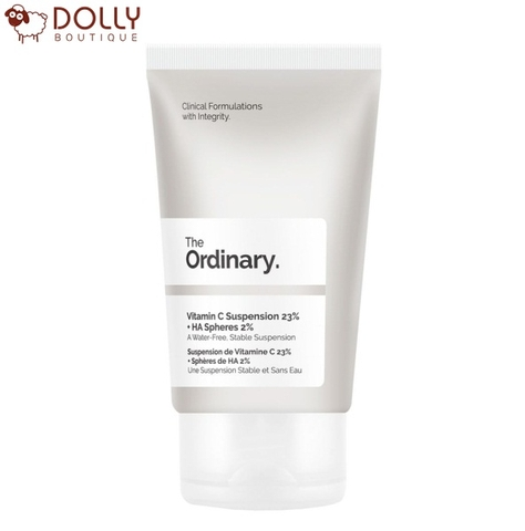 KEM DƯỠNG THE ORDINARY VITAMIN C SUSPENSION 23% + HA SPHERES 2%