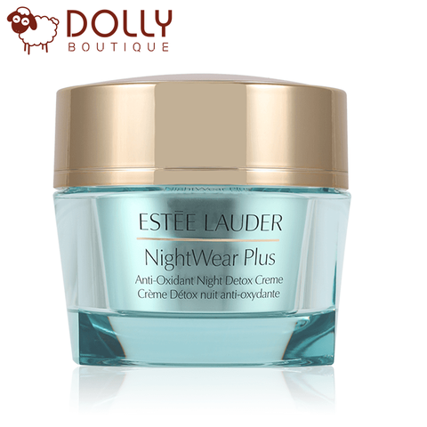 KEM DƯỠNG ẨM ESTÉE LAUDER NIGHTWEAR PLUS ANTI - OXIDANT NIGHT DETOX CREME 15ML ~ 50ML